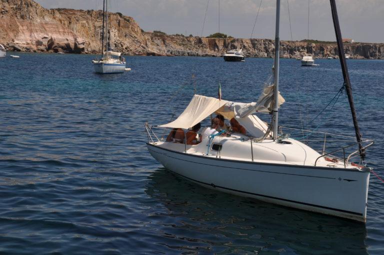 esperienza in barca a vela a San Pietro