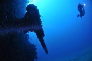 relitto nave Isonzo