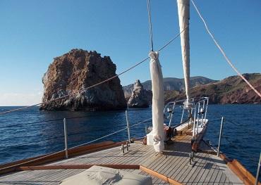 itinerario crociera in barca a vela sud sardegna