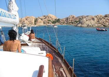 Itinerario crociera in barca a vela nord sardegna e sud corsica
