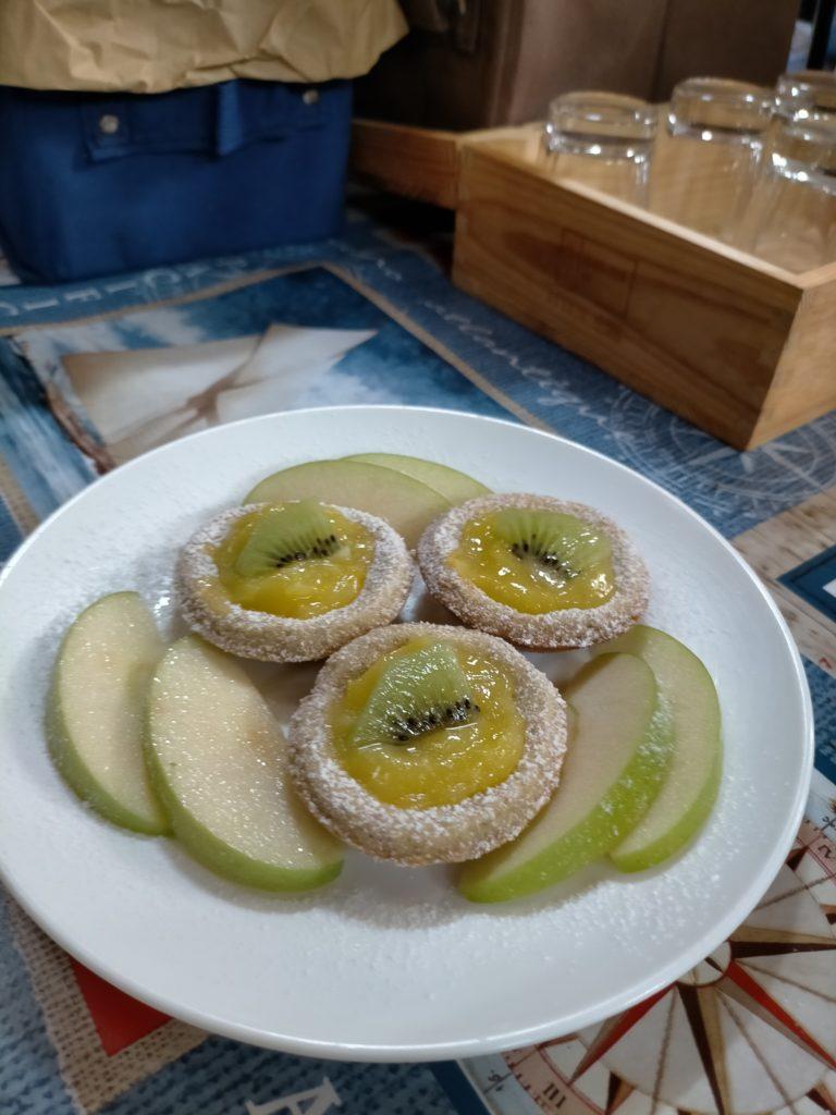 Crostatine integrali alla crema di limone