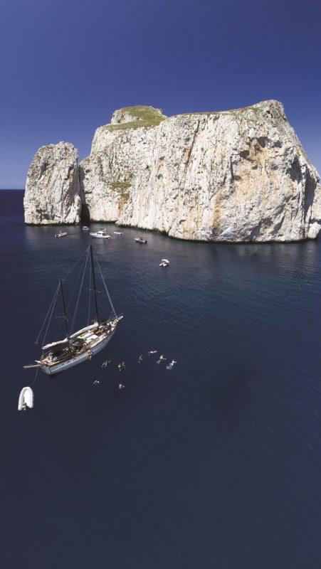 noleggio barche e gita in barca a vela Sud Sardgna