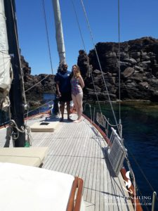 gita in barca a vela isola di sant'antioco