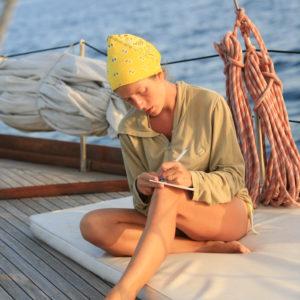 relax durante una vacanza in barca a vela