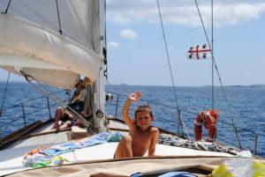 vacanza in barca a vela in Sardegna